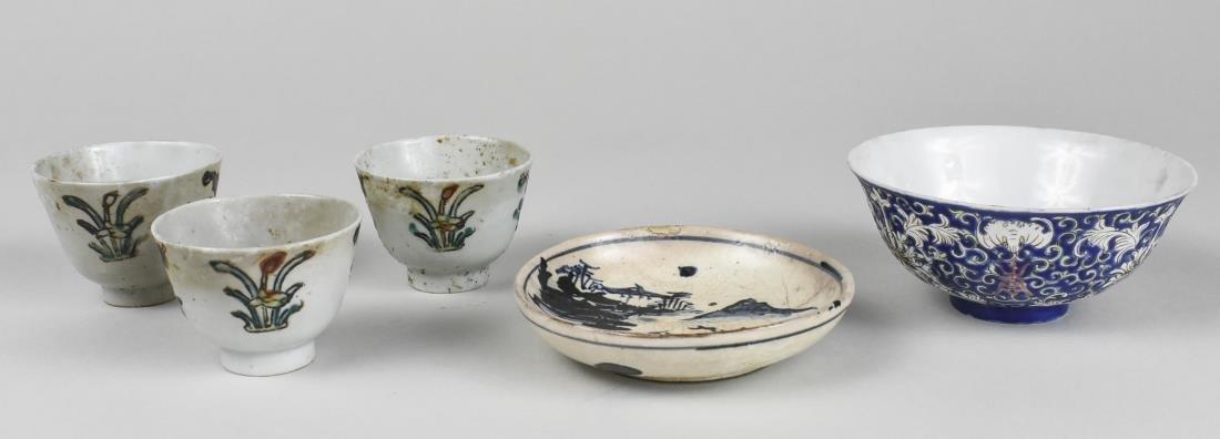 Group of Asian Porcelain