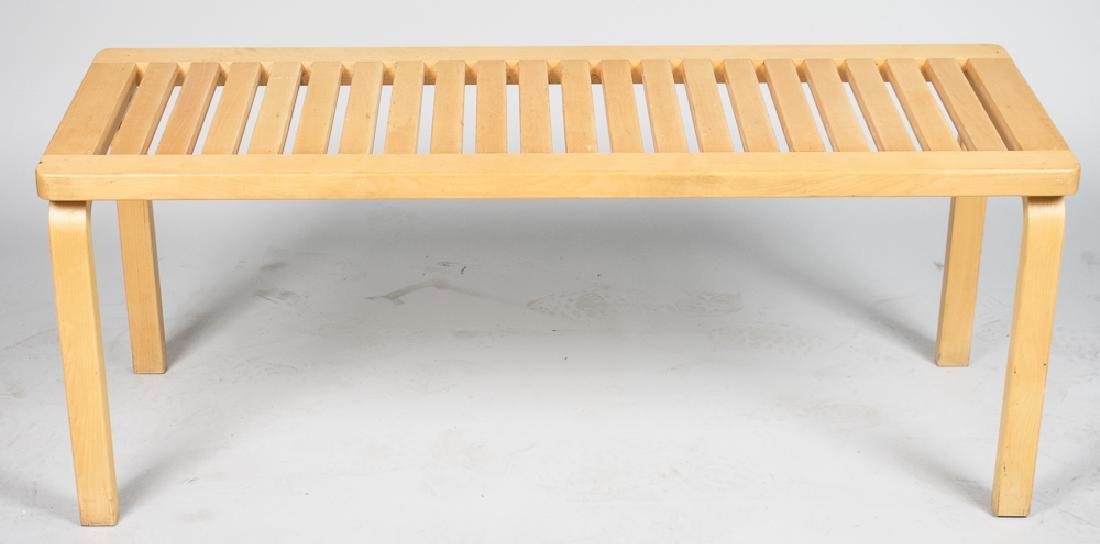 Alvar Aalto 153a Bench/Table