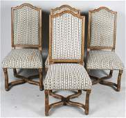 Set of Four Baroque Style Side Chairs