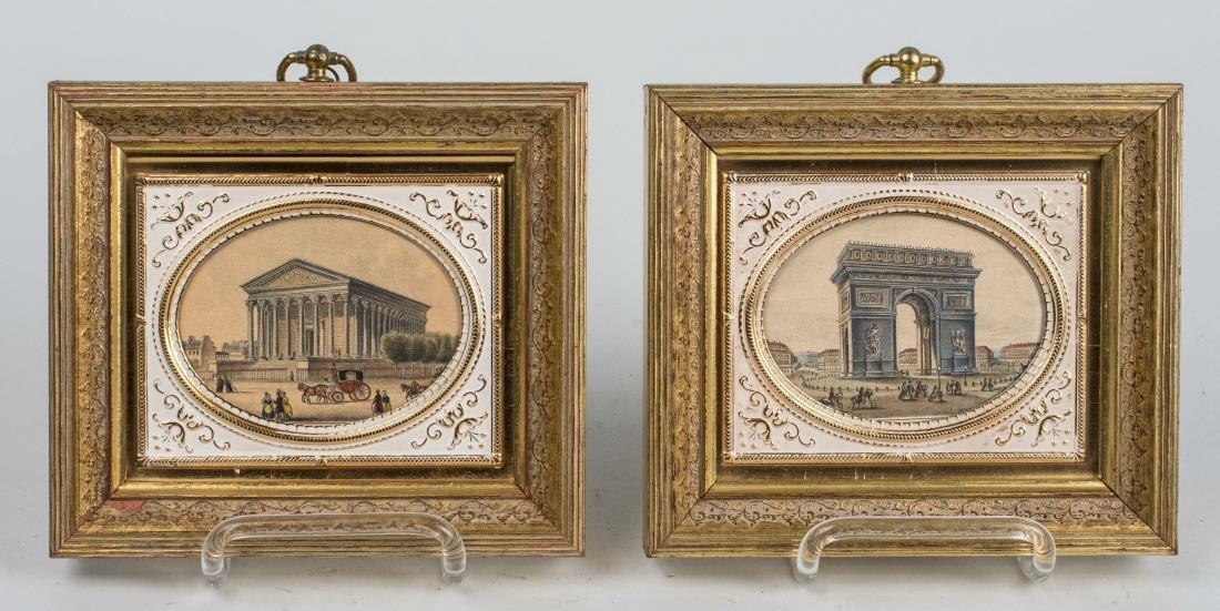 Prints of L'Arc de Triomphe, La Madeleine Church