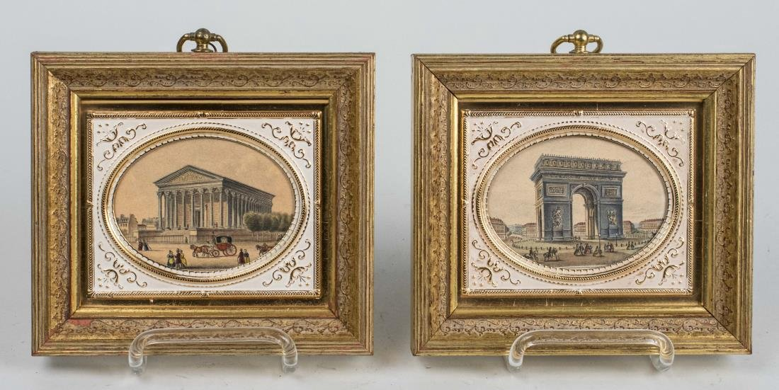 Prints of L'Arc de Triomphe, La Madeleine Church