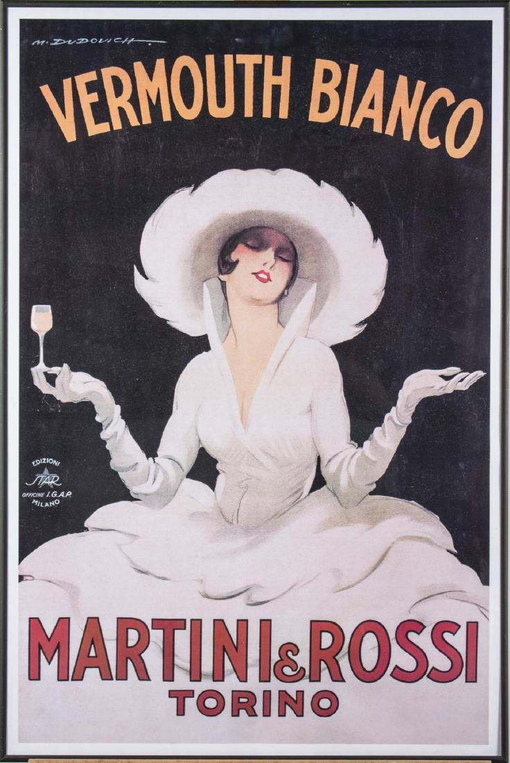 Pair of Reproduction Italian Alcohol Posters - 2
