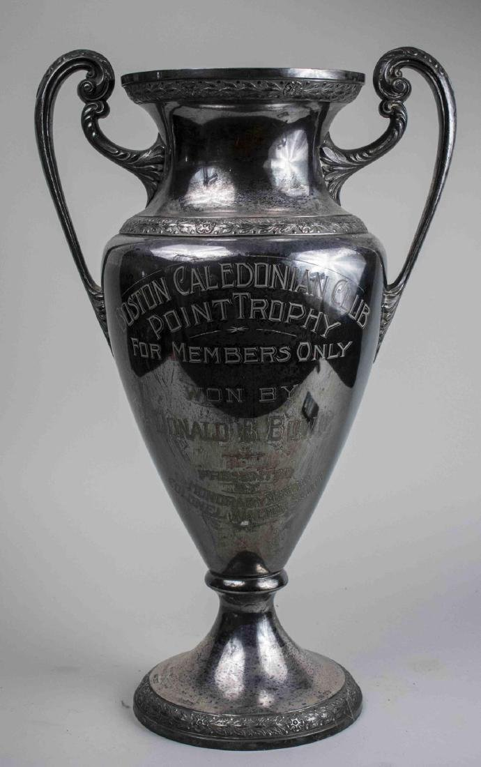 Silver Plated Trophy Urn