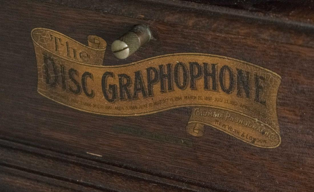 Churchill Disc Graphophone with Horn - 3