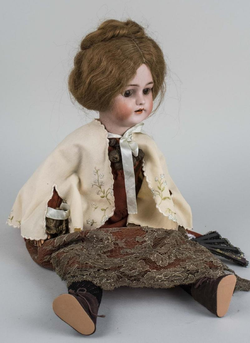 Porcelain Head Doll