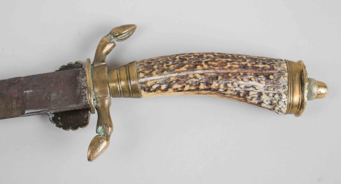 German Hirschfanger Hunting Dagger - 4