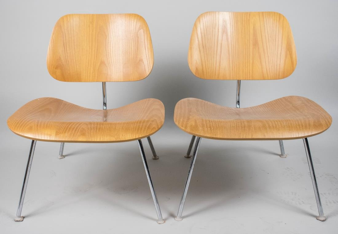 Pair of Eames LCM Chairs