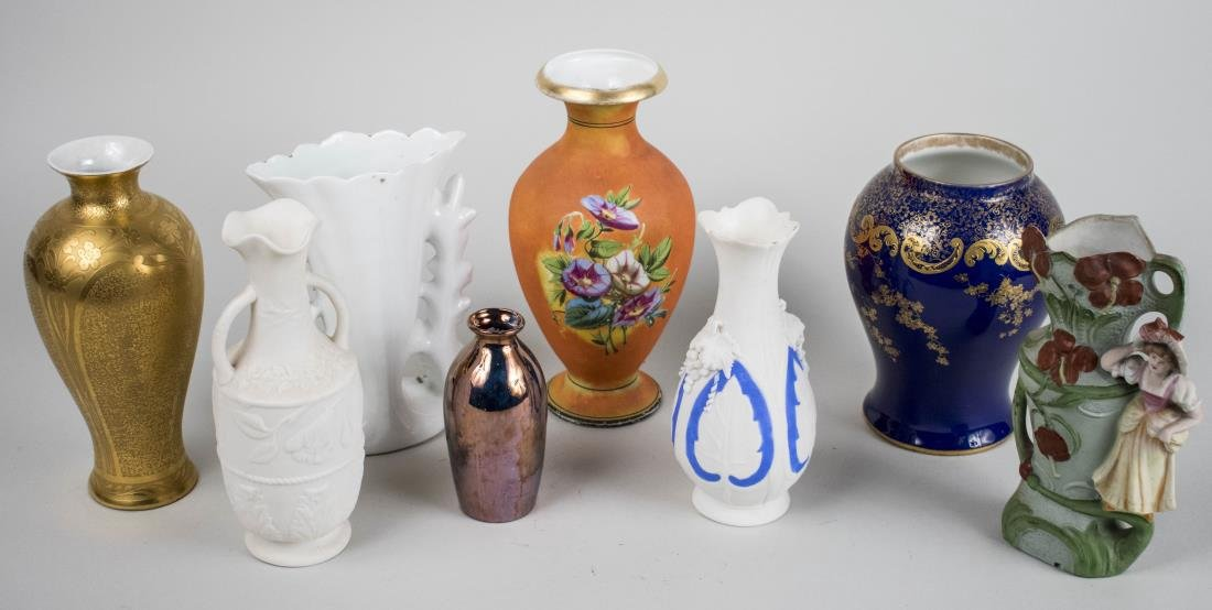 Eight Porcelain Vases