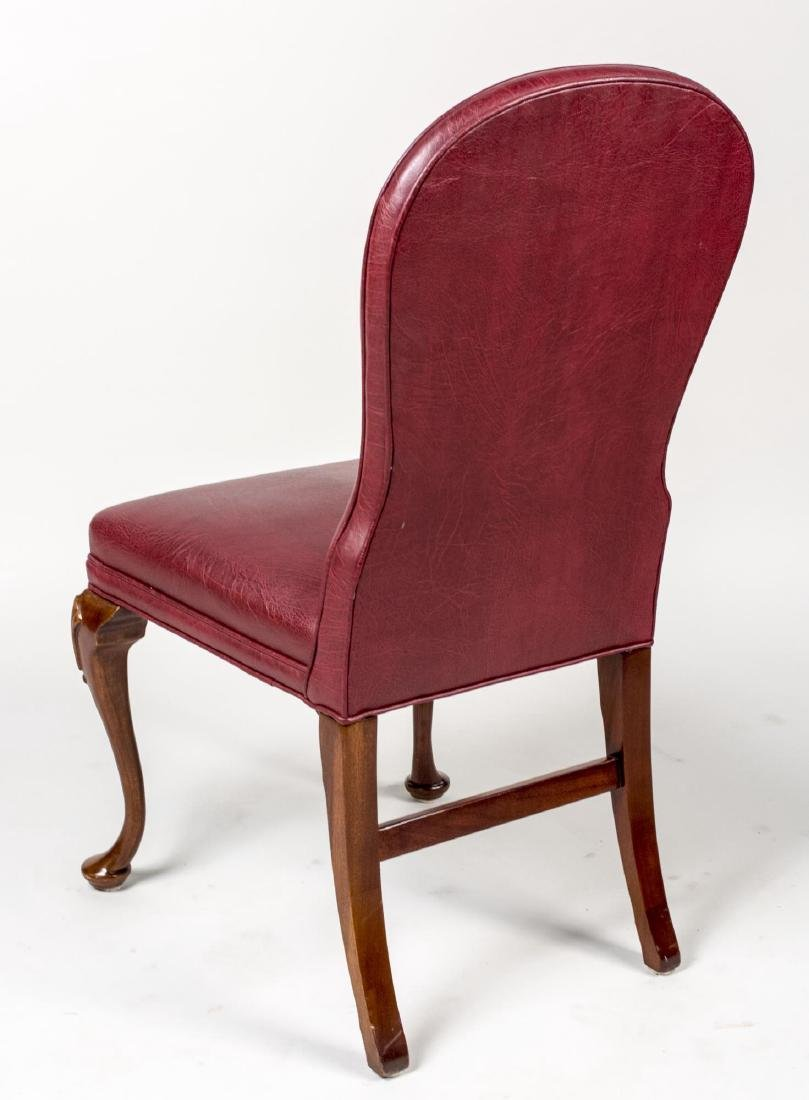 Pair of Hickory Chair Leather Side Chairs - 3