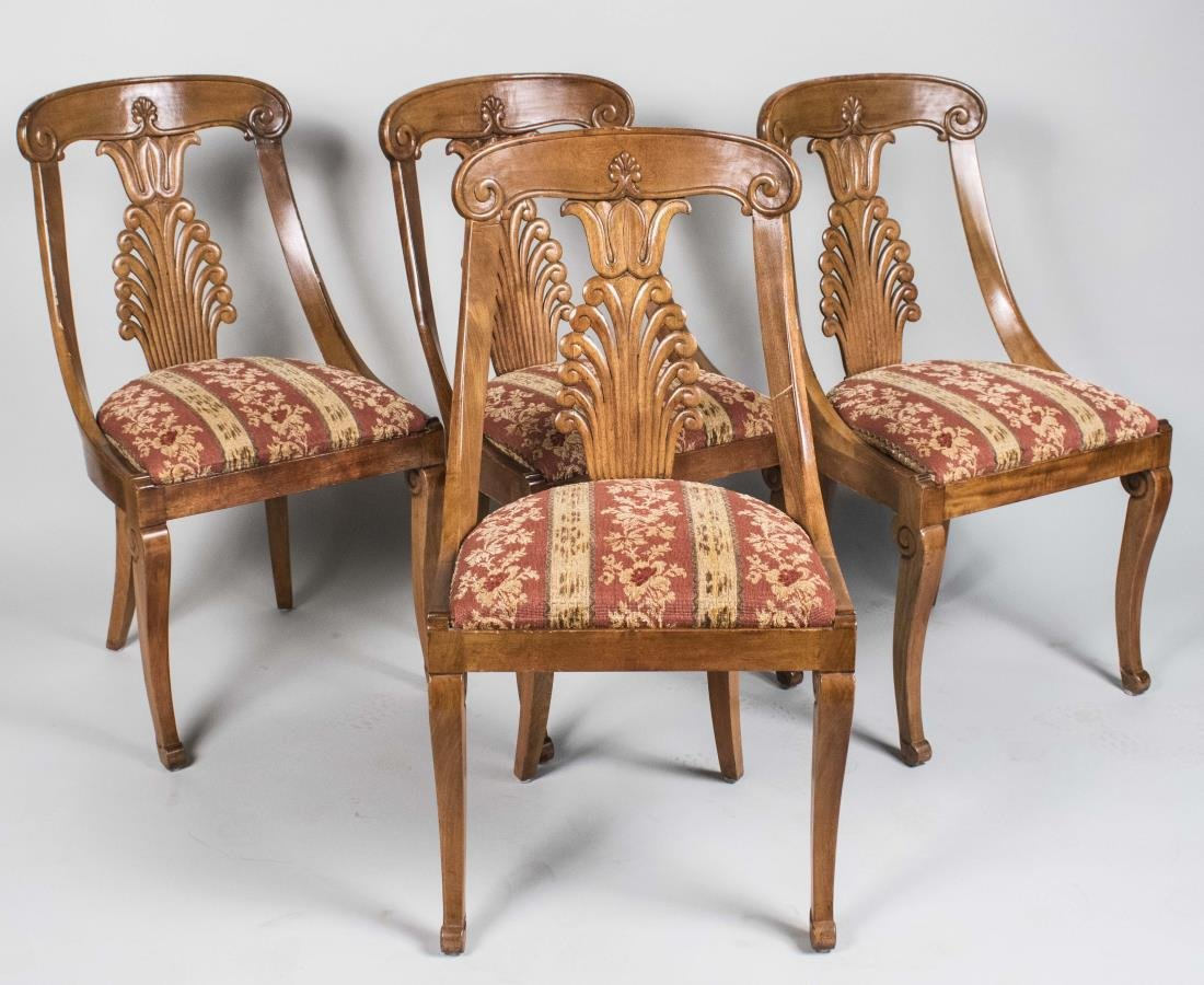 Set of Four Empire Style Chairs