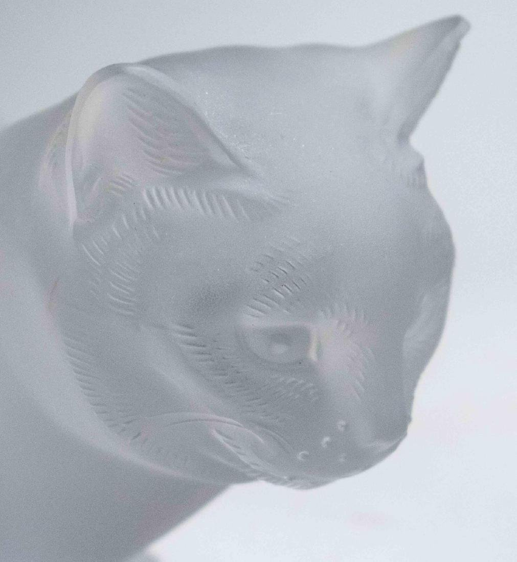 Lalique Cat - 2