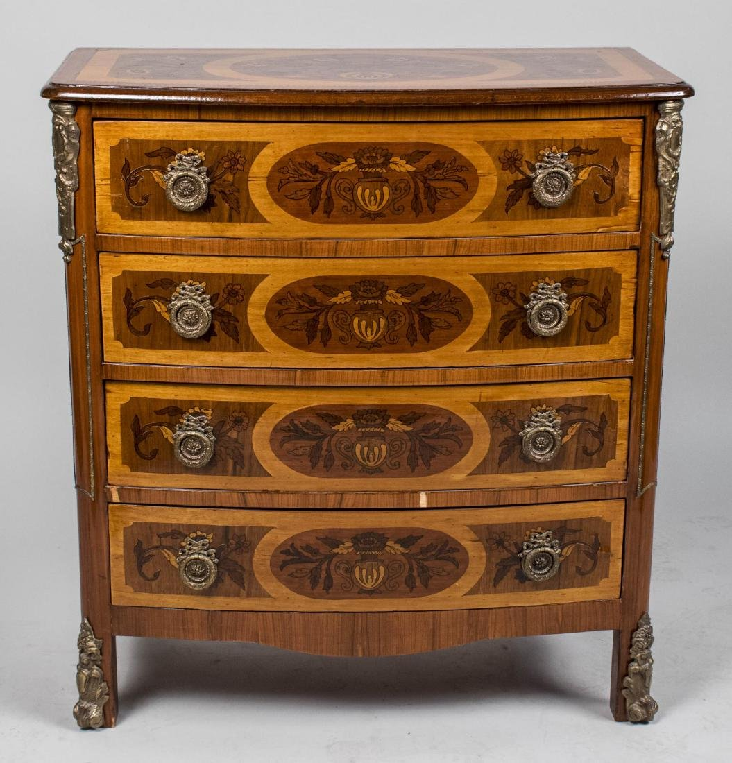 Marquetry Chest of Drawers