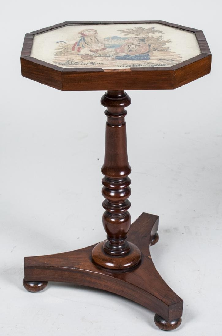 Needlework Top Occasional Table