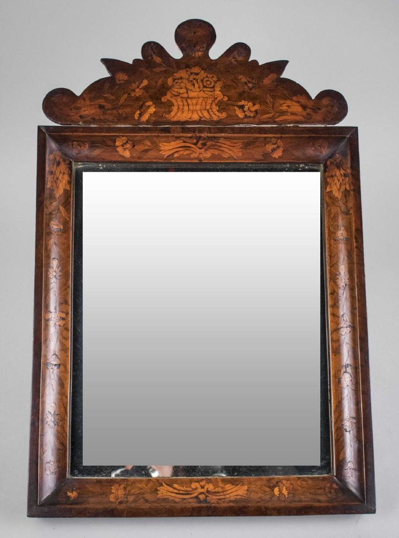 Dutch Marquetry Mirror