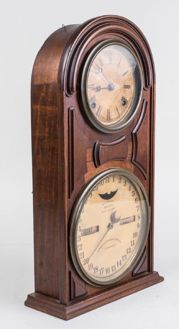 Ithaca Calendar Clock - 2