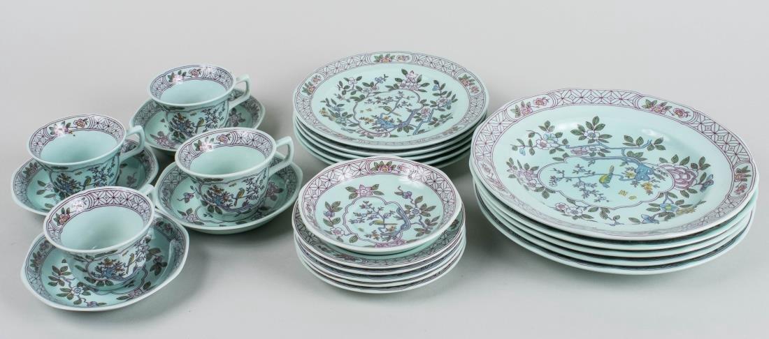 Adams Calyx Ware Ceramic Dinner Set