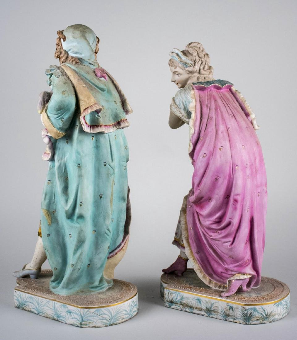 Pair of Chantilly Porcelain Figures   * - 2
