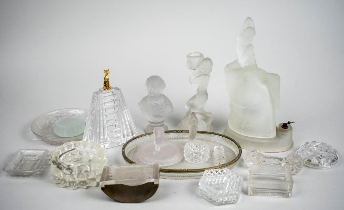 Miscellaneous Group of Glass Decorations