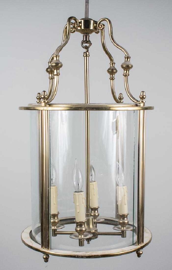 Pair of Bronze Lantern Fixtures - 2