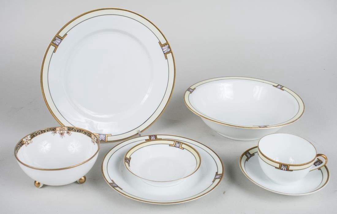 Austrian Porcelain Dinner Set