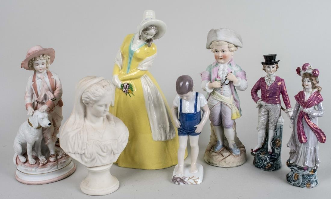 Group of Porcelain Figures