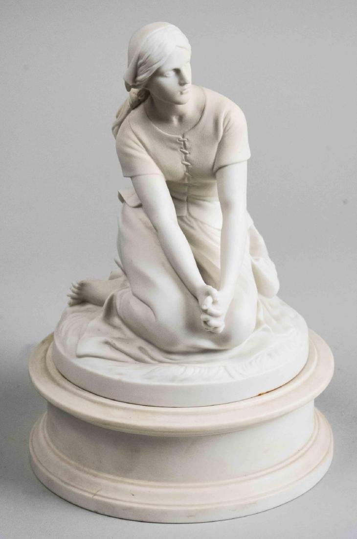 Biscuit Porcelain Figure