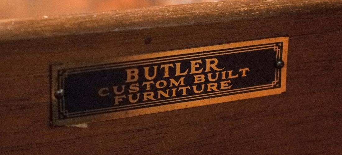 Butler Furniture Fruitwood Sideboard - 4