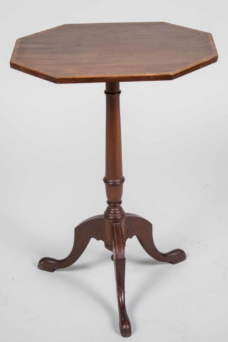 Mahogany Tilt Top Table