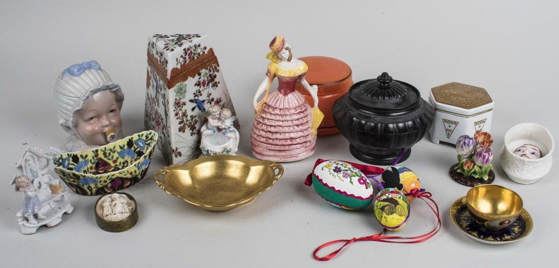 Group of Porcelain Decorations