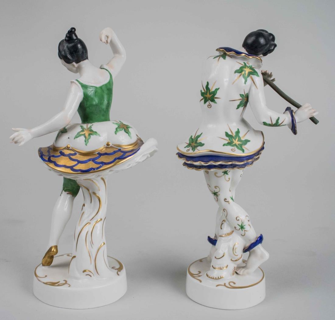 Pair of German Porcelain Figures - 2