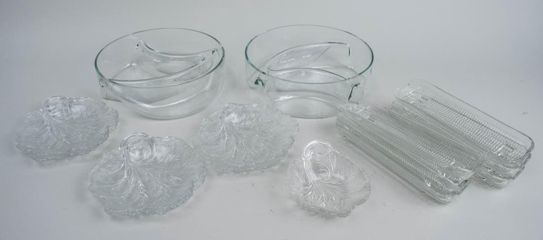 Group of Vintage American Pressed Glass