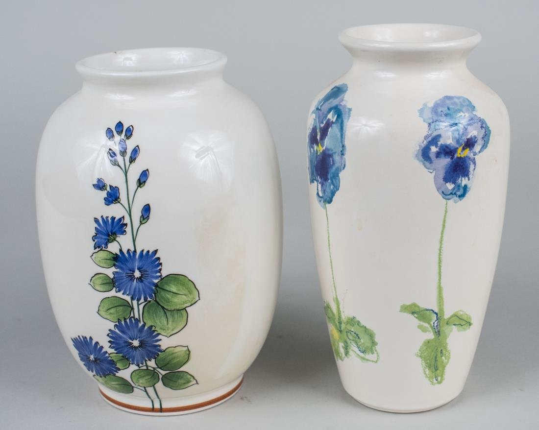 Two Tiffany & Co.  Porcelain Vases