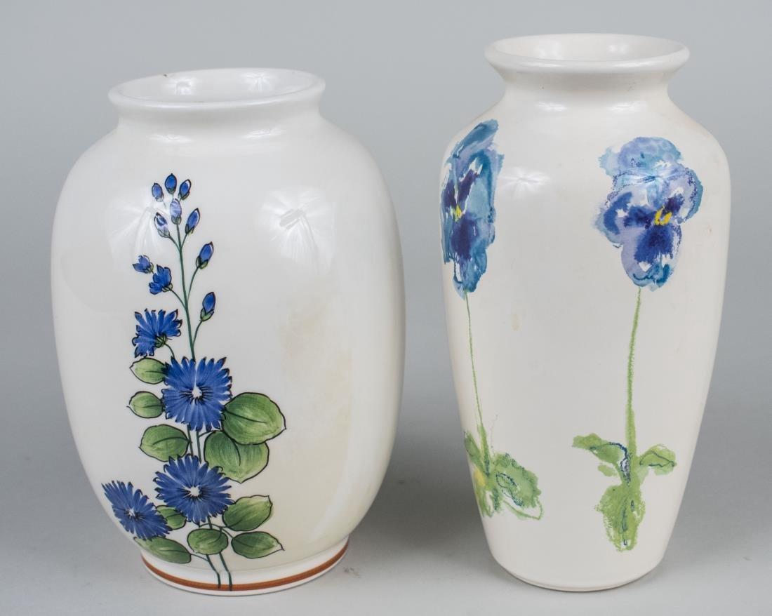 Two Tiffany & Co.  Porcelain Vases