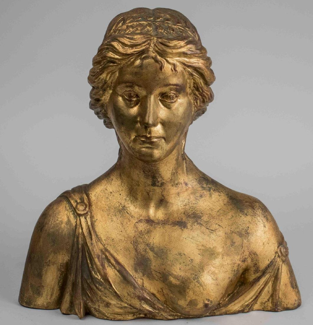 Ceramic Female Bust