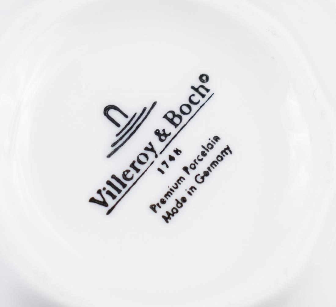 Villeroy & Boch Porcelain Dinner Set - 2
