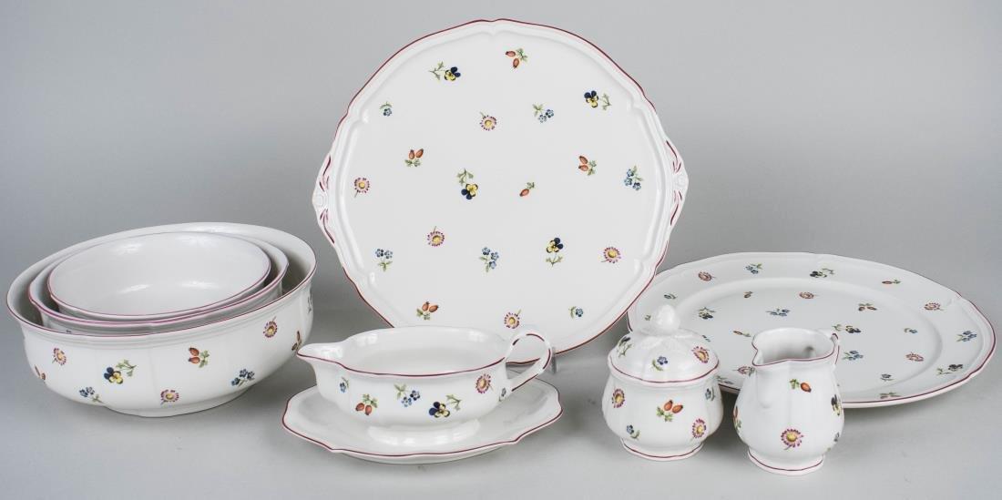 Villeroy & Boch Porcelain Dinner Set - 3