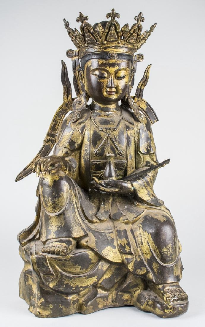 Bronze Figure of Quanyin
