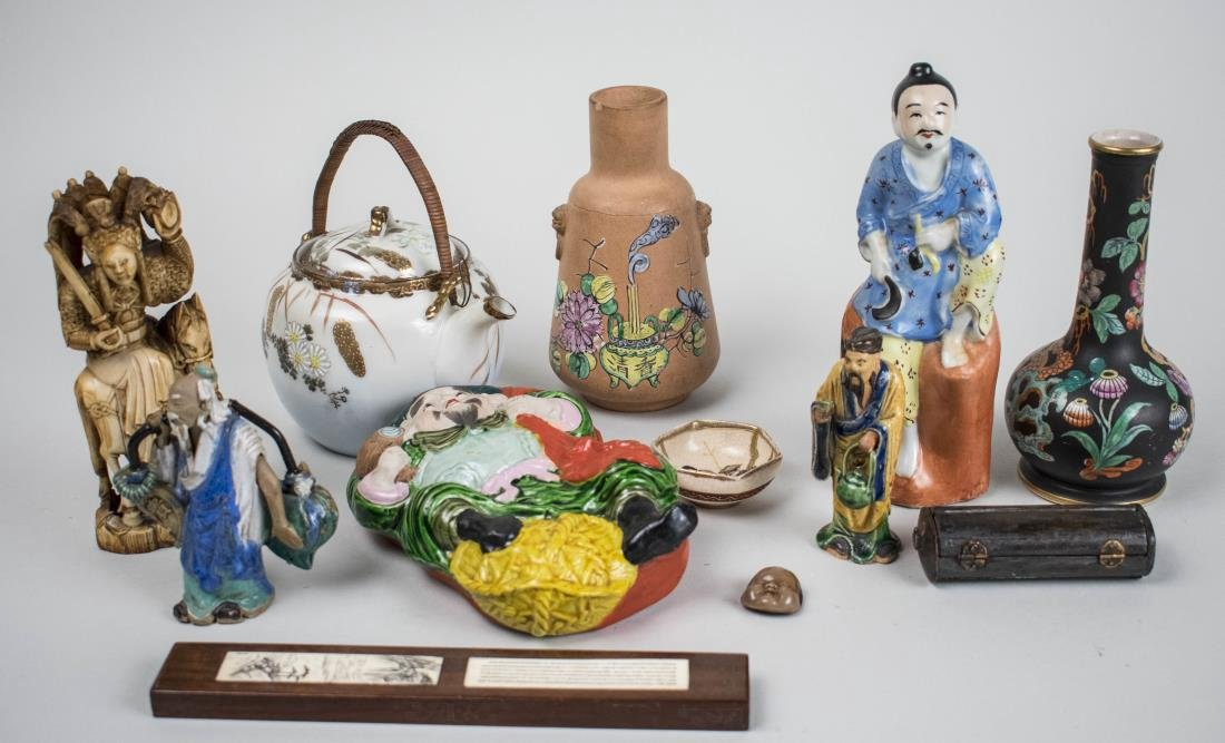 Group of Chinese Table Decorations