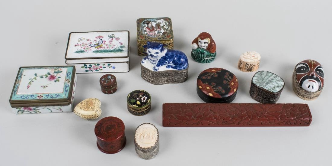 Group of Chinese Boxes