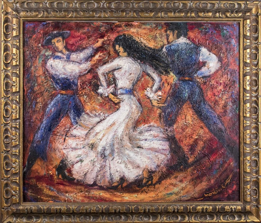 Painting of Spanish Dancers (20th Century)