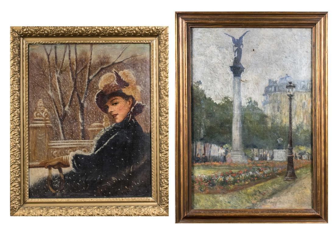 19th Century Scene Paintings