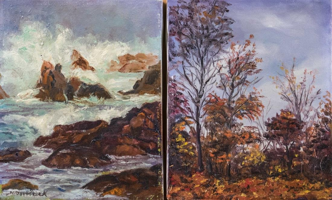 Pair of Landscape Paintings (20th Century)