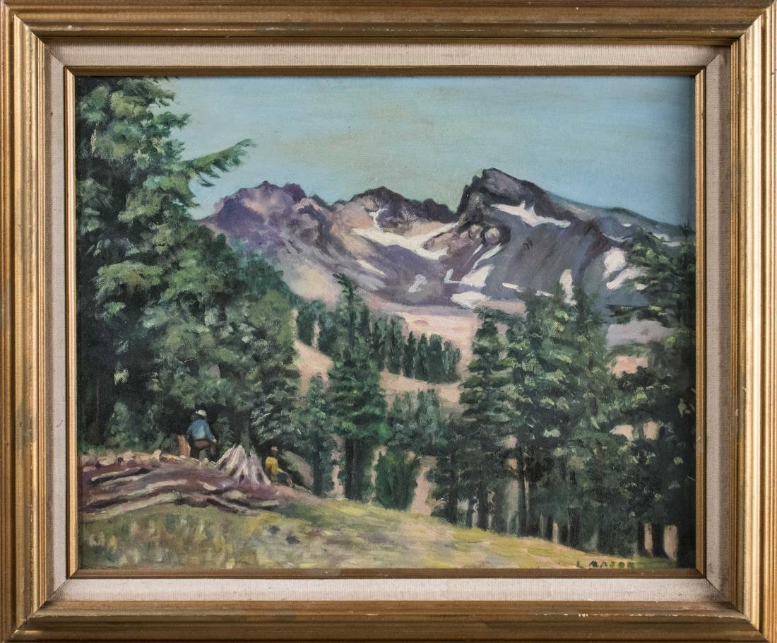 Mountain Landscape (20th Century)
