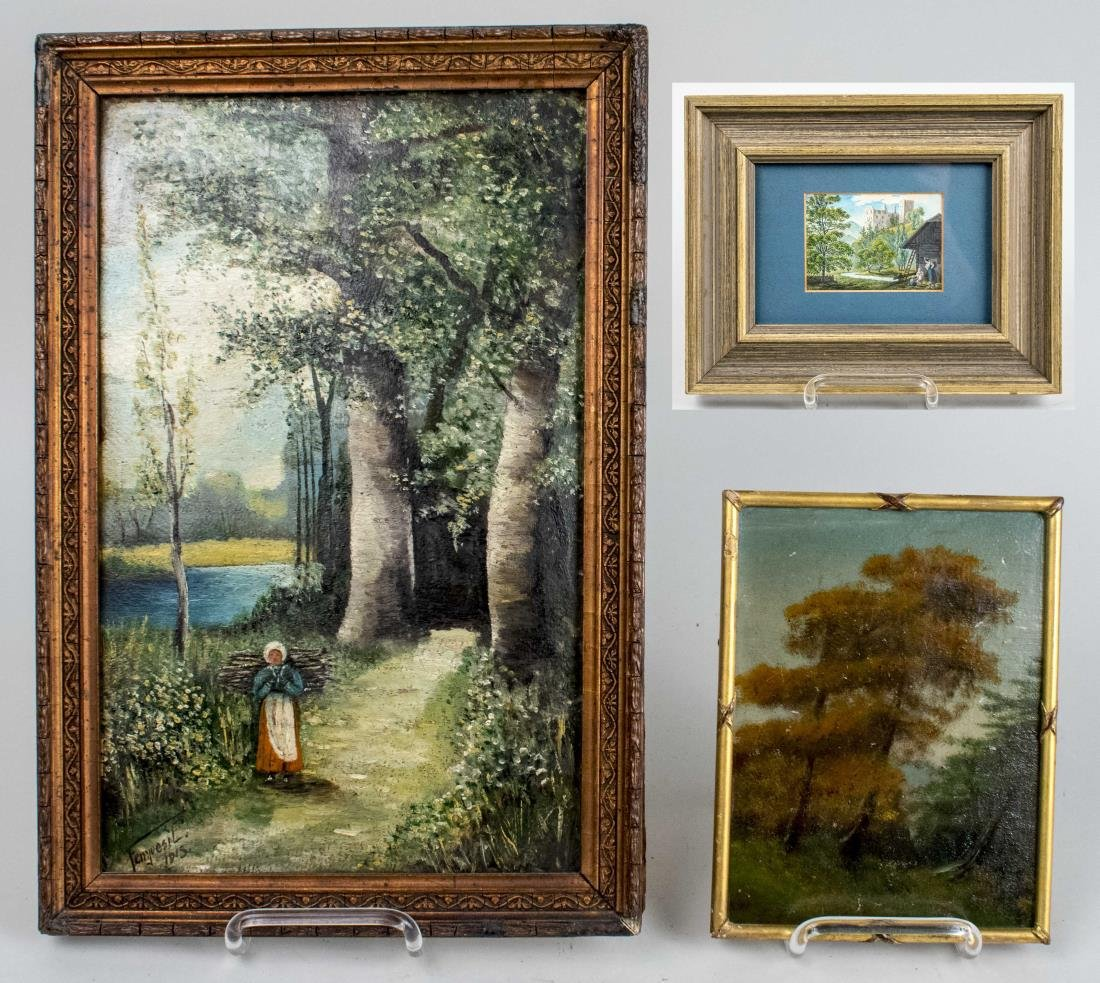 Group of Landscape Paintings (20th Century)