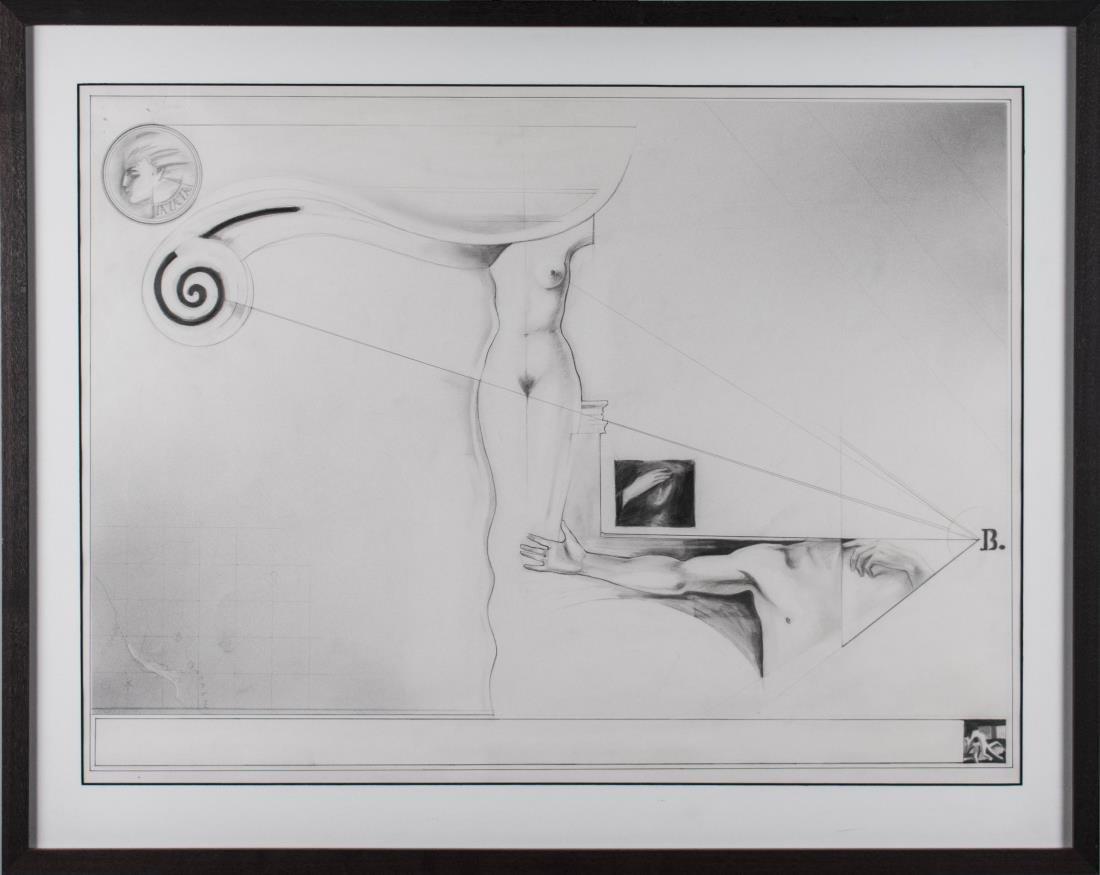 Surrealist Drawing (20th Century)