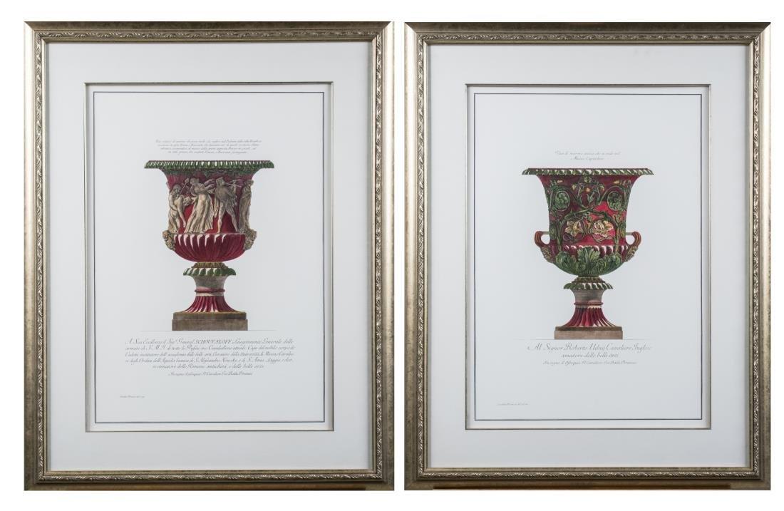 Pair of Decorative Italian Urn Prints