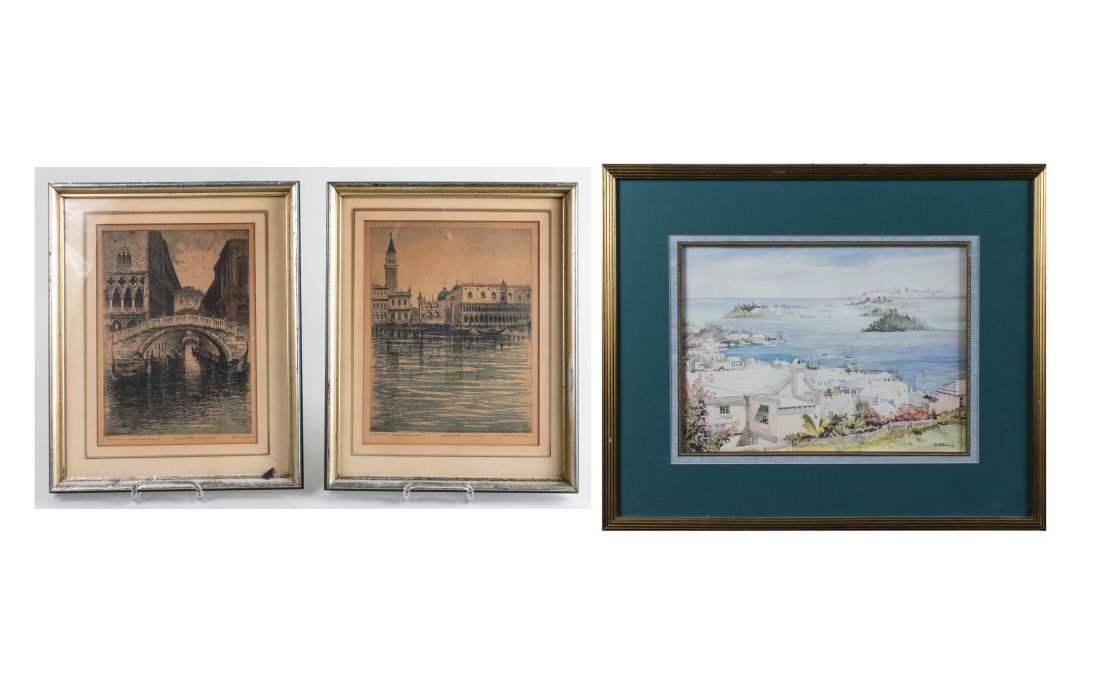 Three Coastal and Venetian Scenes