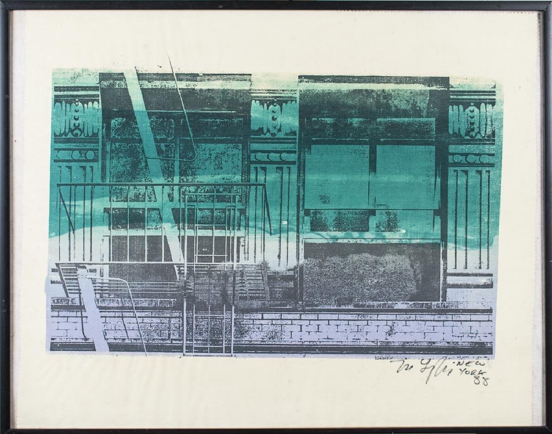 Print of New York (20th Century)