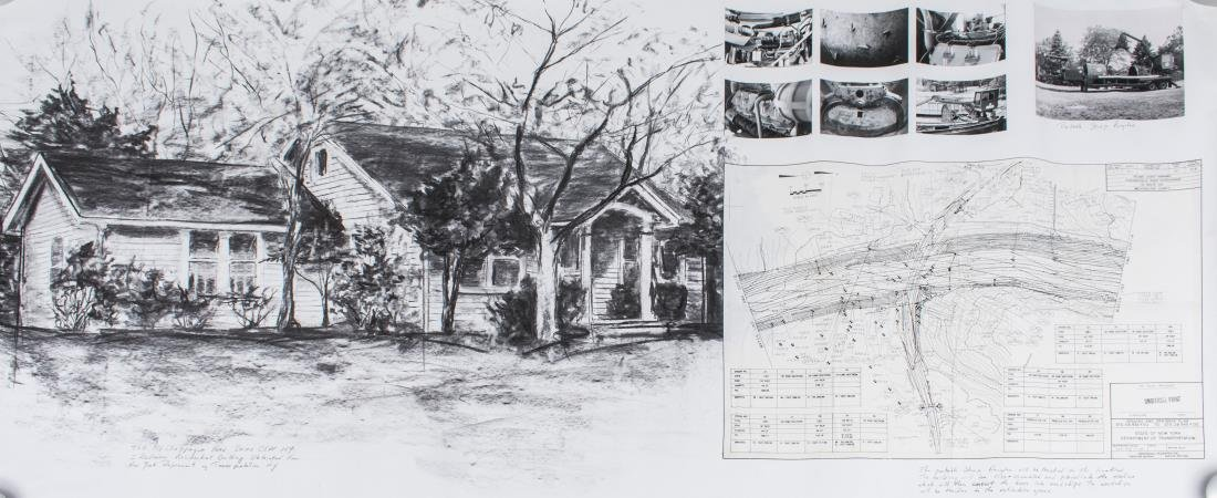 House Drawing of Westchester, New York property