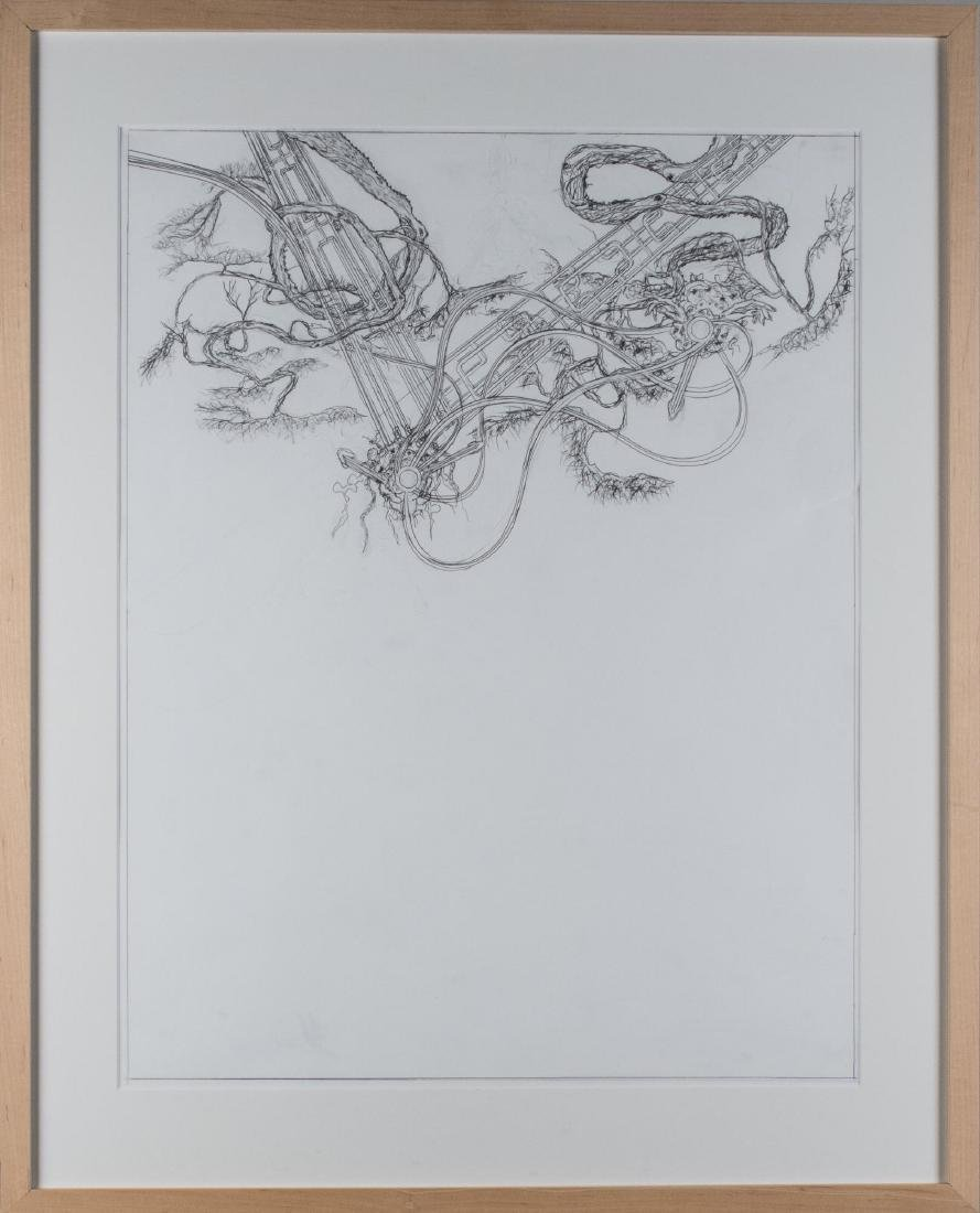 Group of Four Pencil Drawings (20th C) - 2